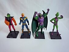 4 MARVEL Eaglemoss DIE-CAST/SUPER SKRULL/NOVA/ANNIHILUS/Uomo impossibile