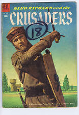 King Richard & the Crusaders F.C. #588 Dell 1954  Matt Baker
