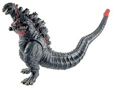 Brand New Shin Godzilla, Movable Joints Action Figures Soft Vinyl, Carry Bag