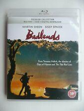 Badlands (Premium Collection) (Blu-ray+ DVD, 2018) Terrence Malick, Martin Sheen