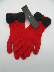Marc jacobs red winter gloves nwt