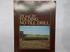 Great Plains 24 Amp 30 Folding No Till Drill Amp Attachments Sales Brochure