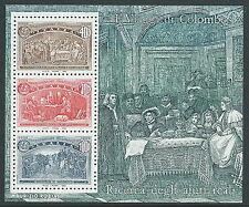 1992 ITALIA FOGLIETTO COLOMBO 400+700+1000 LIRE MNH ** - B4