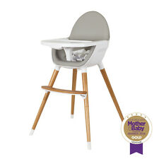 childcare timber baby feeding wooden high chair