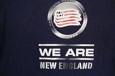 Mls New England Revolution Major League Soccer Fan Adidas Apparel Blue T Shirt M