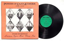 PIONEERS OF CAJUN ACCORDION 1926-1936 LP OLD TIMEY RECORDS OT128 US 1989 NM+