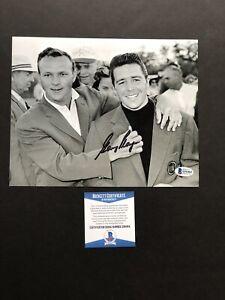 Gary Player autographed signed 8x10 photo Beckett BAS COA Golf Legend Masters