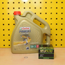 BMW R1200 HP2 alle M. �–lwechselset �–l �–lfilter Castrol Power 1 Racing 10w50 4T