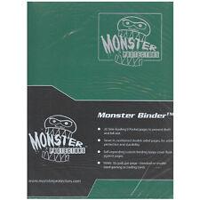 MATTE FOREST GREEN Monster Binder Side-Loading 9-Pocket Card Album/Portfolio