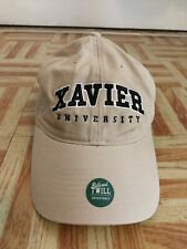 XAVIER MUSKETEERS RELAXED TWILL HAT CAP LEGACY NCAA ADJUSTABLE STRAPBACK
