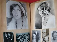 AMAZING ~ GLORIA SWANSON ~ VINTAGE SCRAPBOOK / COMPLETE 54 PAGES / DBL. SIDED