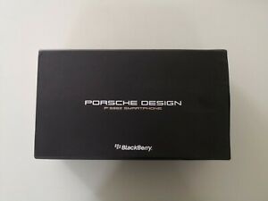 PORSCHE SMARTPHONE P'9982 BLACKBERRY BLACK FULL BOX AND ACCESSORIES