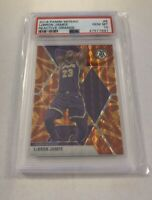 LEBRON JAMES 2019-20 Panini Mosaic #8 Reactive Orange Prizm GEM MINT PSA 10