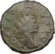 Gallienus Valerian I son Ancient Roman Coin Agricultural fertility Cult   i39409
