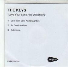 (DG279) The Keys, Love Your Sons & Daughters - DJ CD