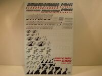 """DECALS 1/43 - 1/32 - 1/24 - 1/18 TABAC """" GITANES """" F1  - VIRAGES  T235"""