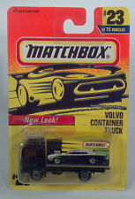 Matchbox MB23 Volvo Container Box Truck Auto Delivery Die Cast1996Scale Model