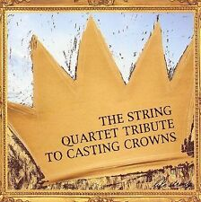 FREE US SHIP. on ANY 2 CDs! ~Used,VeryGood CD Tribute to Casting Crowns: String