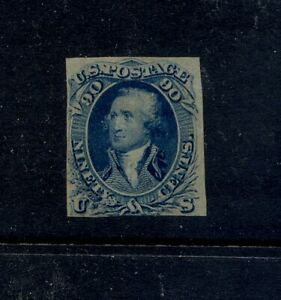 US   72  imperf  proof