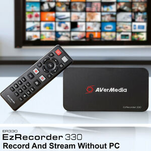[Express to Worldwide] Avermedia EzRecorder 330 ER330 Video Capture Recorder