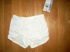 NWT DANSKIN Girls 1 Tap Jazz Gymnastics DANCE /CHEER Shorts Pant SKATE Sz M 22""