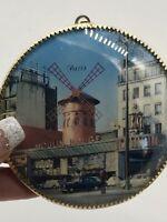 VINTAGE Moulin Rouge france Souvenir windmill. Collectible Souvenir