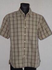 Timberland mens cotton short sleeve check shirt size L
