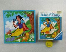 Puzzle en Bois Walt Disney Blanche Neige - Ravensburger 1985 Complet