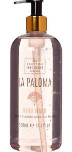SCOTTISH FINE SOAPS LA Paloma Liquid Hand Wash 500ml rrp £13