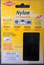 Kleiber 2 Nylon-Flicken z. Reparieren Schirmen Taschen selbsklebend viele Farben