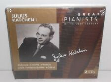 028945685625 Great Pianists of the 20th Century - Julius Katchen 2CD New Sealed