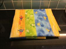 Large Piece Material Colourful NEW Fabric Crafts Sewing Haberdashery