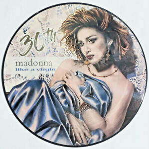 MADONNA LIKE A VIRGIN ANNIVERSARY LP PICTURE-DISC  + BONUS LIMITED & NUMBERED