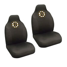 Brand New NHL Boston Bruins Universal Fit Car Truck 2 Front Seat Covers Set