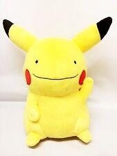 Banpresto Pokemon XYZ Deluxe 13'' Cute Plush ~ Ditto Transformed Pikachu BP36394