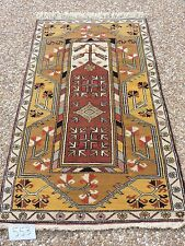 3x5ft. Oushak Turkish Melas Wool Prayer Rug