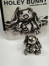 OHM Bead HOLEY BUNNY BOTM Only 789 made.New with certificate