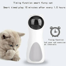 Automatic Cat Toys Interactive Smart Teasing Pet LED Laser Funny Handheld hone