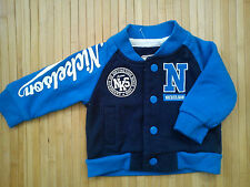 NICE NICKELSON SPRING BABY BOY BASEBALL SWEATSHIRT 3/6 MTHS  (0.2)
