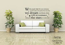 Oasis Little by Little Lyrics Wall Sticker Wall Art Decals Lyrics