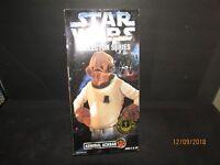 "ADMIRAL ACKBAR 1997 Kenner Star Wars Collector Series 12"" Figure TOYS'R'US"