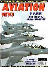 Aviation News 2005 April Swiss,Ethiad,Finnish Hawks,Boeing 757,Meteor