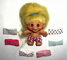 """TROLL CLOTHES LOT OF 7 PANTIES SHORTS FOR 2 1/2"""", 2 3/4"""" or 3"""" DAM WISHNIK #44"""