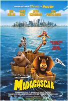 MADAGASCAR MOVIE POSTER Original DS 27x40 Rare International Style