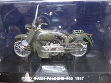 1 / 24 MOTO GUZZI POLICE ITALIENNE FALCONE 500 1967 POLIZIA STRADALE