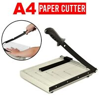 OFFICE PROFESSIONAL A4 PAPER CUTTER GUILLOTINE TRIMMER MACHINE SAFETY GUARD