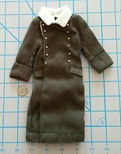 WWII German greatcoat 1/6 bbi dragon Miniature over coat DID gi joe dam 3R