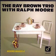 Ray Brown Trio - Moore Makes 4 [CD]
