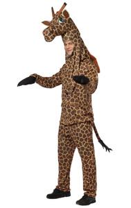 Adult Giraffe Zoo Safari Animal Fancy Dress Costume