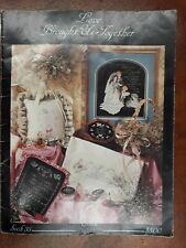 """Stoney Creek Collection Cross Stitch Book """"Love Brought Us Together"""" Book 35"""